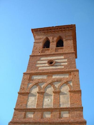 Torre de la iglesia de Villamarco de las Matas