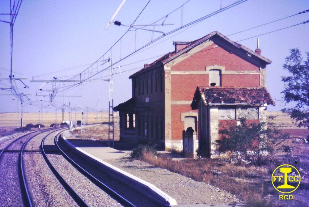 Estación de la RENFE de Villamarco de las Matas