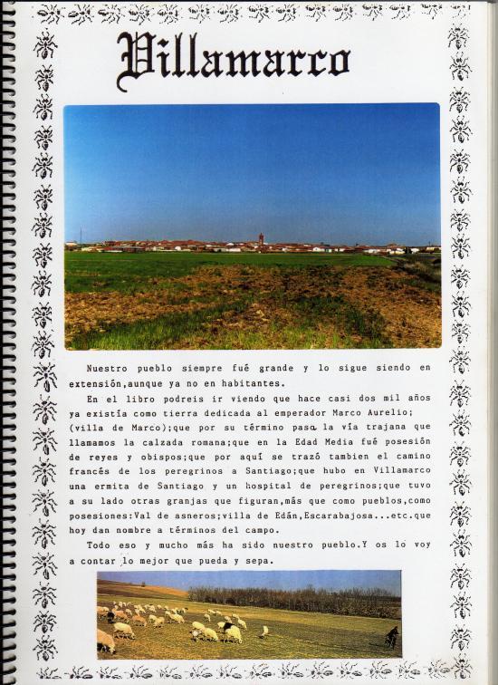 Libro del pueblo de Villamarco de las Matas