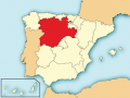Localizacion de Castilla y León