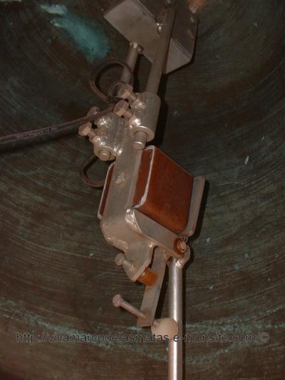 Intérior de la campana