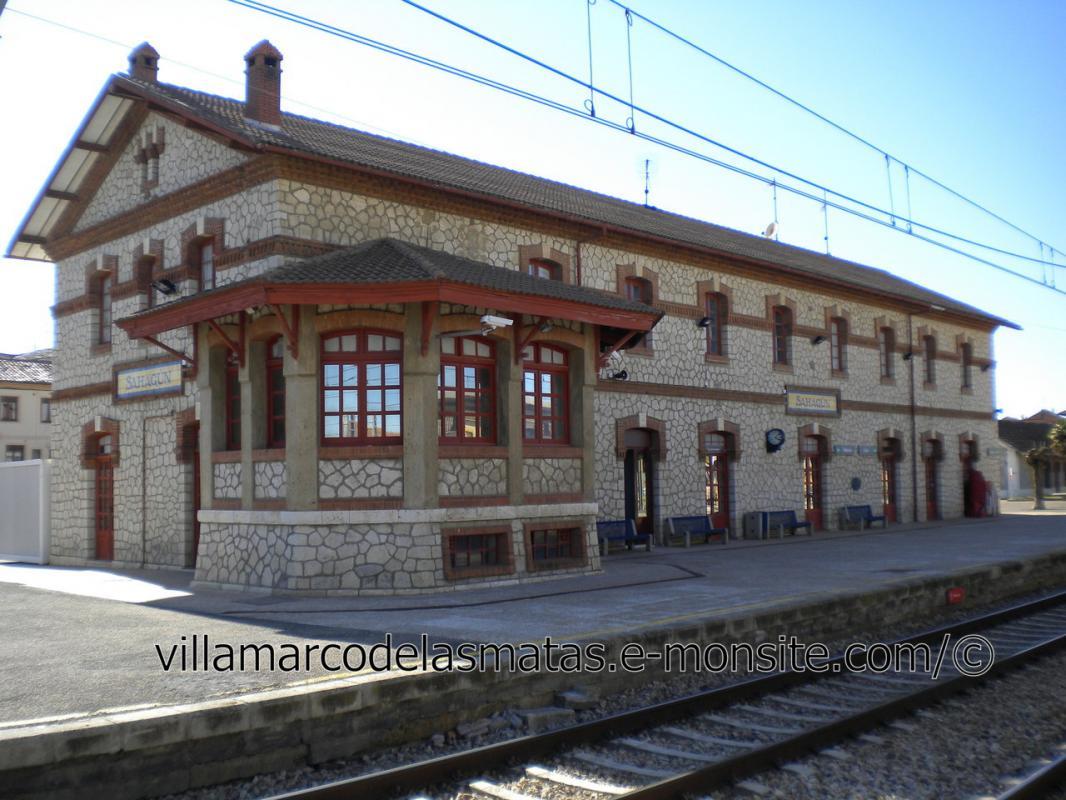 Estación de Sahagún